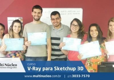 V-Ray para Sketchup 3D